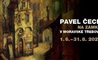 Výstava známého výtvarníka a ilustrátora knih Pavla Čecha